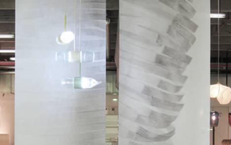 """Panneaux japonais trompe l'oeil """"Souffle"""" - exemple de réalisation 3"""