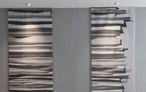 """Stratos"" trompe l'oeil sliding panel - example 3"
