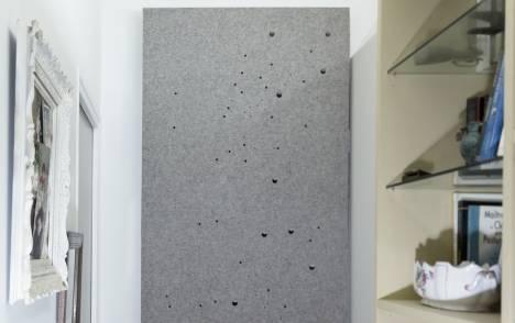 """Panneaux japonais acoustiques """"Voie lactée"""" - exemple de réalisation 1"""