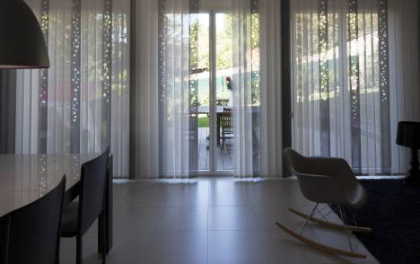 "Vertical blinds ""Bubbles"" - example 3"