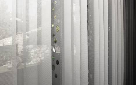 "Vertical blinds ""Bubbles"" - example 6"