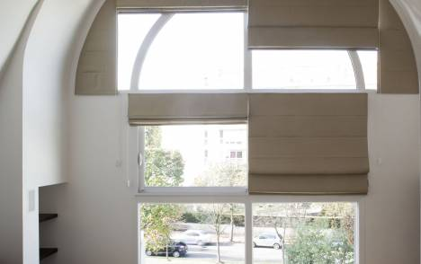 Roman blinds - example 3