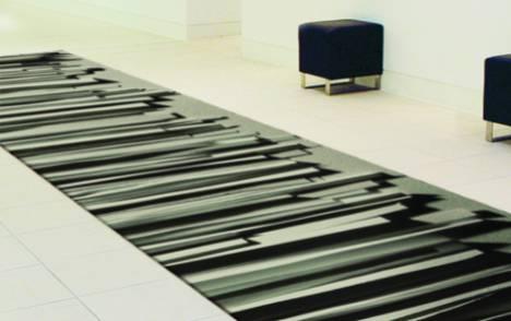 """""""Stratos"""" custom trompe l'oeil carpet - example 1"""