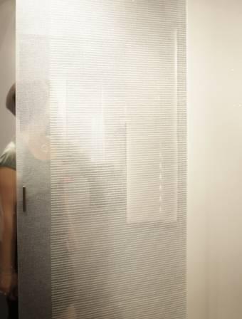 Parois en verre transparente-2