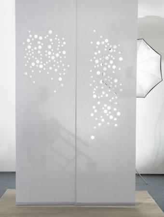 bulles de savon panneau japonais translucide. Black Bedroom Furniture Sets. Home Design Ideas