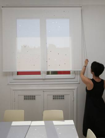 "Sun screen roller blinds ""Milky way"""
