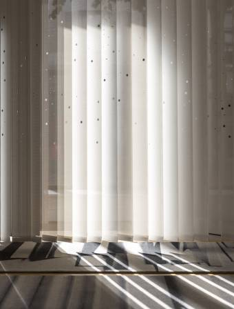 "Vertical blinds ""Milky way"""