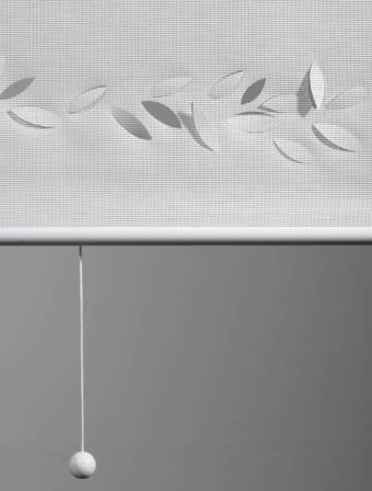 "Sun screen roller blinds ""Falling leaves"" - 2"