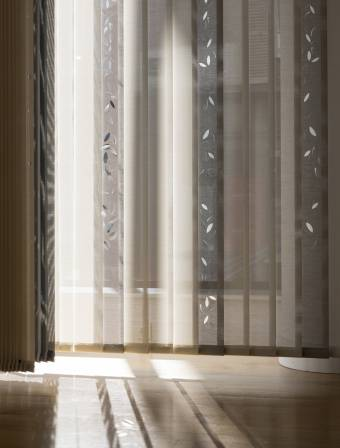 "Vertical blinds ""Falling leaves"""