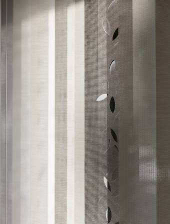 "Vertical blinds ""Falling leaves"" - 3"