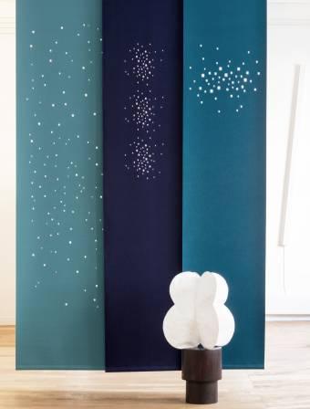 Panneaux japonais Namad - Feutre acoustique - lumères