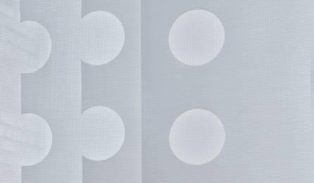 """Tissu """"Le Cahier"""" écran solaire pour panneaux japonais : 86 blanc"""