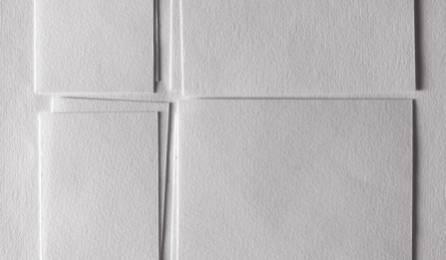"""Tissu """"Léo"""" trompe-l'oeil pour panneaux japonais - echantillon 1"""