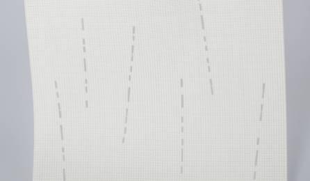 """Tissu """"Mikado"""" écran solaire pour panneaux japonais : 86 blanc"""