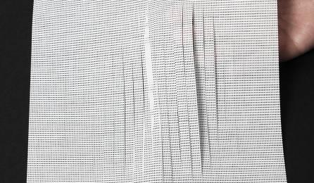 """Tissu """"Soleil"""" écran solaire pour panneaux japonais : 86 blanc"""