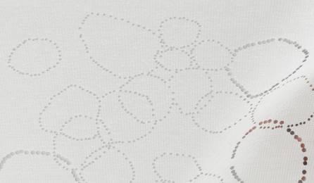 """Tissu """"Galets"""" translucide pour panneaux japonais"""