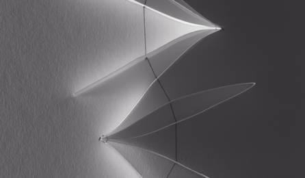 """Jasmin"" trompe l'oeil sliding panel fabric : shade 1"