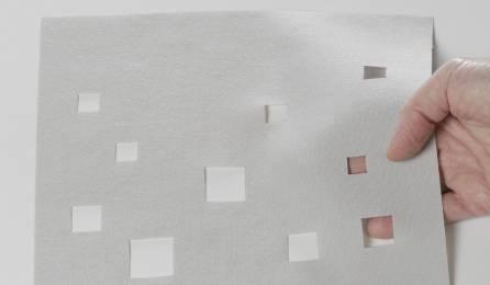 """Tissu """"Lumières de la ville"""" translucide pour panneaux japonais"""