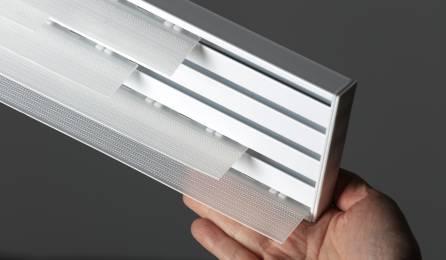 Straight sliding panel glide system