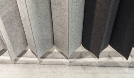Pleating panel detail