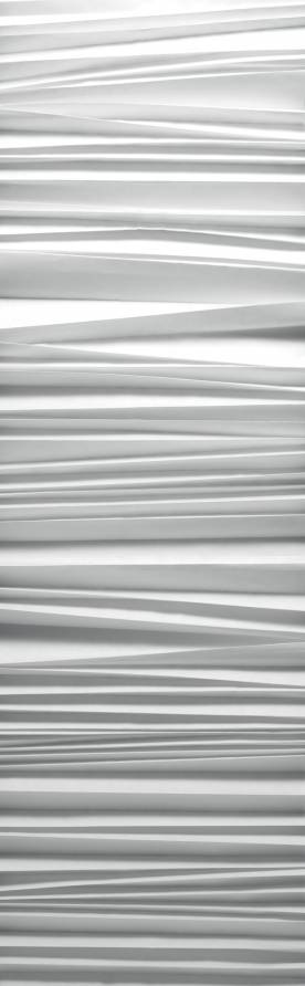"""Pleated"" trompe l'oeil sliding panels"