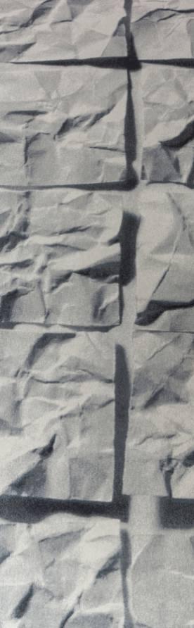 """""""Lithos"""" custom trompe l'oeil rugs"""