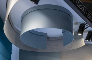 """NAMAD"" acoustic suspended panels"